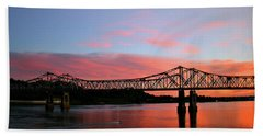 Natchez Sunset Beach Towel