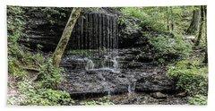 Natchez Trace Waterfall Beach Towel