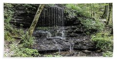Natchez Trace Waterfall Beach Towel