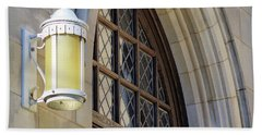 National Cathedral Details Beach Towel by John S