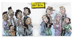 National Conversation About Race Beach Towel