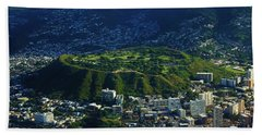 National Memorial Cemetery Of The Pacific Beach Towel by Craig Wood