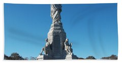 National Monument To The Fore Fathers Beach Towel by Catherine Gagne