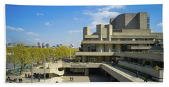 Beach Towel featuring the photograph National Theatre by Stewart Marsden