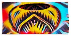 Native American Basket 1 Beach Sheet