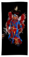 Native American Dancer Beach Sheet