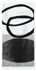 Natural Balance- Abstract Art Beach Towel
