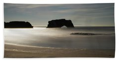 Natural Bridges State Beach Sand Beach Towel
