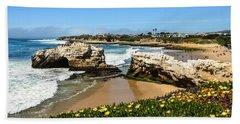 Natural Bridges State Park Beach Beach Towel