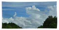Natural Clouds Beach Towel