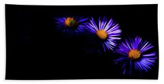 Beach Sheet featuring the digital art Natural Fireworks by Timothy Hack