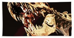 Natural History- T Rex Beach Towel