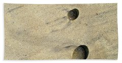 Natural Pebble Formation Beach Towel