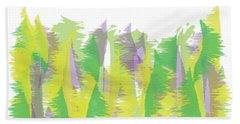 Nature - Abstract Beach Towel