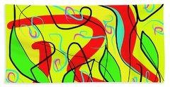 Nature And Silence Beach Towel