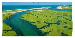 Nature Kayaking Beach Towel