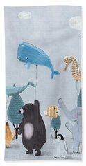 Nature Parade Beach Towel