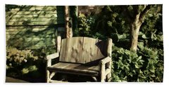 Nature - Peacefulness  Beach Towel by Judy Palkimas