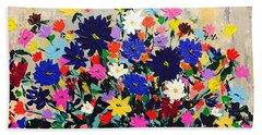 Natures Bouquet  Beach Towel