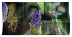 Natures Collage Beach Towel