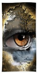 Natures Eye Beach Towel