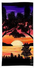 Nature's Gift - Ocean Sunset Beach Towel