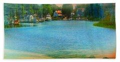 Nature's Magical Sunsets Beach Sheet by Judy Palkimas