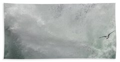 Beach Towel featuring the photograph Nature's Power by Peggy Hughes