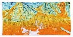 Natures Sand Art Beach Towel