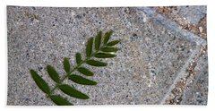 Nature's Trace Beach Towel