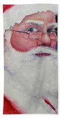 Naughty Or Nice ? Santa 2016 Beach Towel