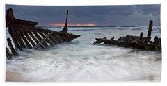 Nautical Skeleton Beach Towel