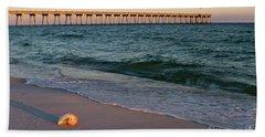 Nautilus And Pier Beach Towel