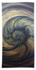 Nautilus Spiral Beach Towel
