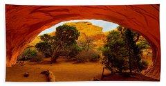 Navajo Arch Beach Towel