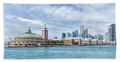 Navy Pier - Chicago Beach Towel