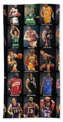 Nba Legends Beach Sheet