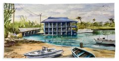 Near Arawak Cay Beach Towel