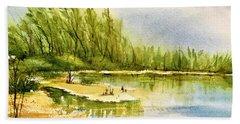 Near The Lake 4 Beach Sheet