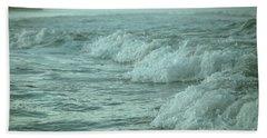 Near Waves Beach Towel