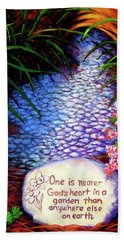 Garden Wisdom, Nearer Beach Towel