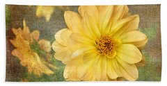 Beach Towel featuring the photograph Nearly Vincent by Liz Alderdice
