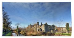 Neath Abbey 1 Beach Towel