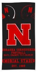 Nebraska Cornhuskers 2 Beach Towel