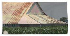 Nebraska Farm Life - The Tin Roof Beach Sheet