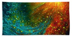 Nebulae  Beach Towel