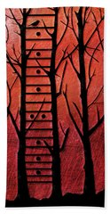 Neck Of The Woods I Beach Towel