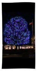Needham's Blue Tree Beach Towel