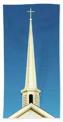 Needle-shaped Steeple Beach Towel