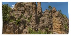 Needles In Custer State Park Beach Towel by Brenda Jacobs